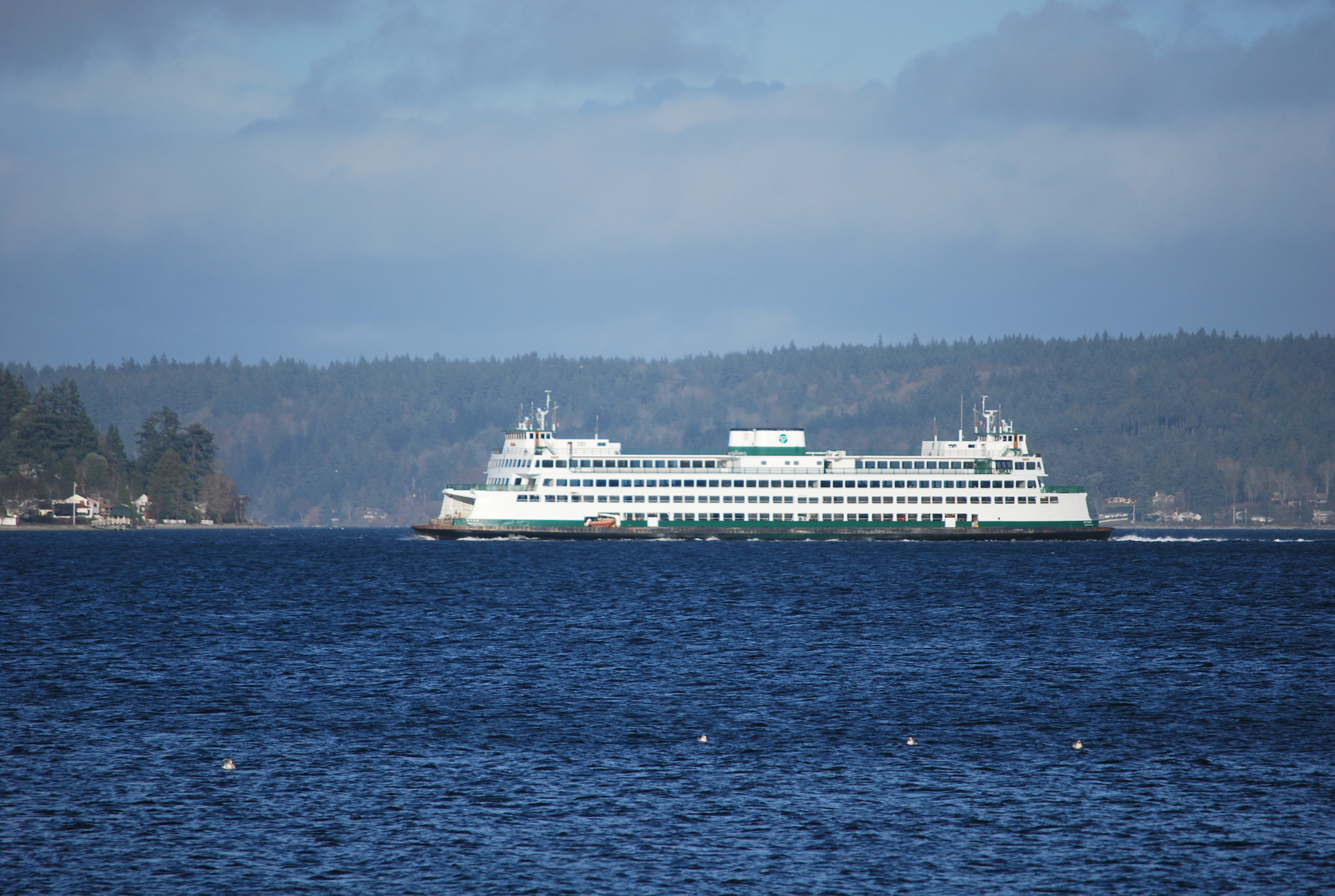 getting to port orchard by ferry