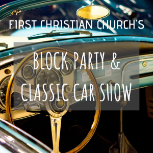 block party and classic car show